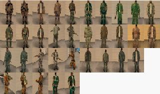 Camo Clothes Pack