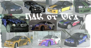 BMW M3 Skinpack by URA